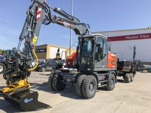 Maskin Väst levererar Atlas 160W Swedish Edition